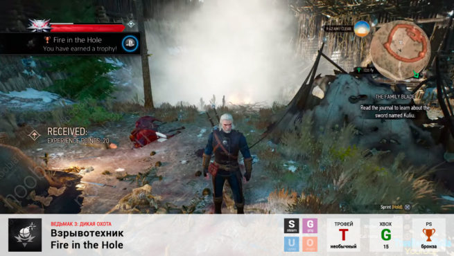 "Трофей ""Взрывотехник / Fire in the Hole"" в The Witcher 3: Wild Hunt (Steam, GOG, PlayStation, Xbox)"