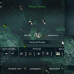 Assassin's Creed 4: карта с местоположением стелы майя на Большом Инагуа