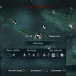 Assassin's Creed 4: карта с местоположением стелы майя на острове Нью-Боун
