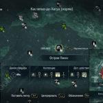 Assassin's Creed 4: карта с местоположением стел майя на острове Пинос