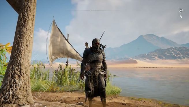 """Assassin's Creed Origins: легендарные доспехи """"Черный капюшон / The Black Hood"""""""