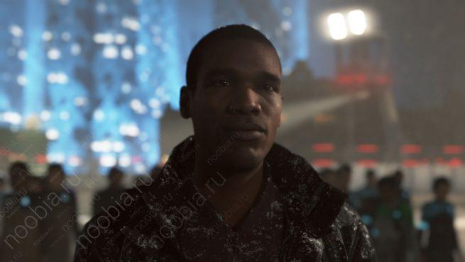 Выживший Джош в Detroit: Become Human