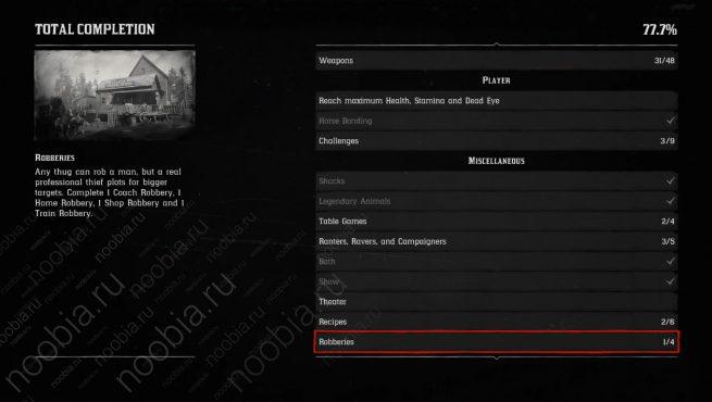 """Прочие задания для получения трофея """"Лучший стрелок на Диком Западе / Best in the West"""" в Red Dead Redemption 2 (PlayStation)"""