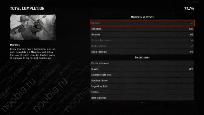 """Миссии и события для получения трофея """"Лучший стрелок на Диком Западе / Best in the West"""" в Red Dead Redemption 2 (PlayStation)"""