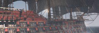 Assassin's Creed 4: легендарный корабль Ла Дама Негра