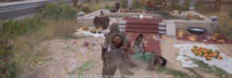 """Assassin's Creed: Origins: Селена из задания """"Хулиганы в голубом / Blue Hooligans"""" в номе Канопус"""