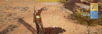 """Assassin's Creed Origins: убитый филак Галат с украшенным ключом в задании """"Добыча филаков"""""""