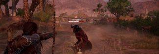 """Assassin's Creed Origins: битва с """"Железным бараном"""" в задании """"Добыча филаков"""""""