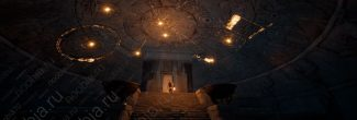 Assassin's Creed: Origins: вход в храм Первой цивилизации под Сфинксом в Гизе
