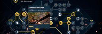 """Assassin's Creed: Origins: навык """"Улучшенный лук хищника / Enhanced Predator Bow"""" в древе Охотника"""