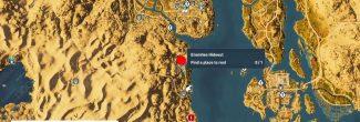 Assassin's Creed: Origins: карта с убежищем отшельника в Файюме