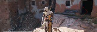 Assassin's Creed: Origins: вход в убежище отшельника в Параитонионе