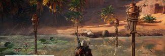 Assassin's Creed: Origins: убежище отшельника во Впадине Каттара
