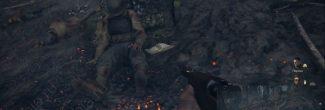"""Call of Duty: WW2: расположение двадцать второго сувенира в задании """"Высота 493"""""""