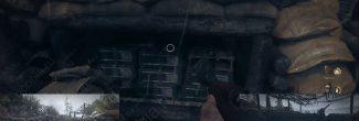 """Call of Duty: WW2: расположение двадцать третьего сувенира в задании """"Высота 493"""""""