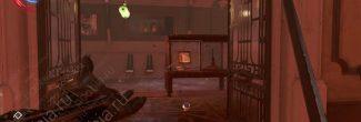 Dishonored: Death of the Outsider: выстрел из пищали по витрине с аудиограммой в галерее Шань Юня