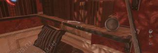 Dishonored: Death of the Outsider: расположение ручку для электрической пищали в комнате Терезии Сьенфуэгос