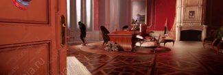 Dishonored: Death of the Outsider: Шань Юнь в кабинете на третьем этаже собственного дома