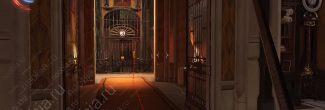 Dishonored: Death of the Outsider: местоположение секретного люка над лифтом у кабинета директора банка