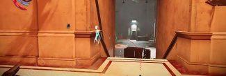 Dishonored: Death of the Outsider: подвал с кодами доступа в банке Майклс