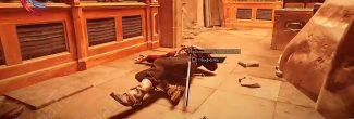 Dishonored: Death of the Outsider: начальник охраны с кодами доступа в подвале банка Майклс
