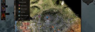 Divinity: Original Sin 2: карта с местоположением Физерфолла на территории Погоста на Побережье Жнеца