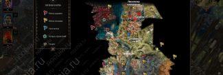 Divinity: Original Sin 2: карта с местоположением Сахейлы на лесопилке в лагере Одиноких Волков на Побережье Жнеца