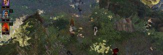Divinity: Original Sin 2: спасенная Сахейла в эльфийском лагере на входе в лесопилку на Побережье Жнеца