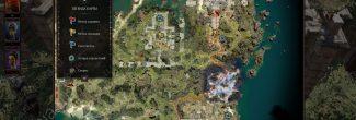 Divinity: Original Sin 2: карта с местоположением Таинственной пещеры и Александара