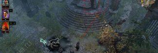 Divinity: Original Sin 2: вход в склеп Кванны с ключом от могилы Джоанны Суррей на Погосте