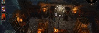 Divinity: Original Sin 2: потайная дверь в архиве на Острове Кровавой Луны на Побережье Жнеца