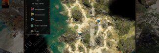 Divinity: Original Sin 2: карта с местами появления черного кота на побережье Форта Радость