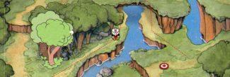 Cuphead: первая скрытая дорожка на Острове Инквелл I