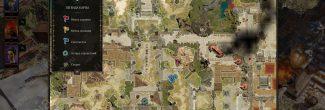 Divinity: Original Sin 2: карта с расположением кузнеца Неборы в форте Радость