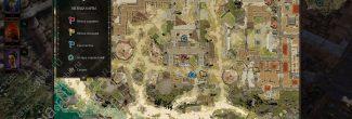 Divinity: Original Sin 2: карта с расположением Арены в Форте Радость