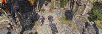 Divinity: Original Sin 2: установка бочки с туманом смерти за спиной Александара на входе в Форт Радость