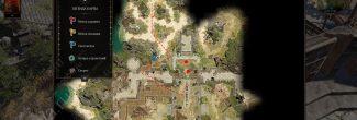 Divinity: Original Sin 2: карта с местоположением Даллис и Александара в Форте Радость
