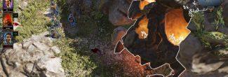 Divinity: Original Sin 2: вход в Пещеру кораблекрушителей на западном Побережье Жнеца