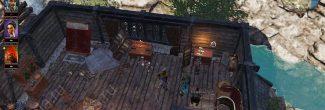 Divinity: Original Sin 2: кнопка для открытия потайной двери в доме мейстра Сивы в Дрифтвуде