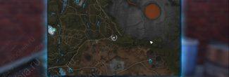 """Elex: карта с местоположением записки """"Четыре дома, часть 3"""" в Восточной Абессе"""