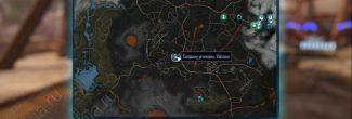 """Elex: карта с расположением записки """"Четыре дома, часть 4"""" в Западном Игнадоне"""