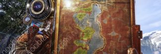 """Карта с расположением статуи Ленина на уровне """"Тайга"""" в Metro Exodus"""