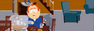 South Park: The Fractured But Whole: отец Крейга на первом этаже своего дома на южной улице