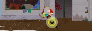 South Park: The Fractured But Whole: первый пердкурный прыжок на здание в лагере бездомных (SoDoSoPa)
