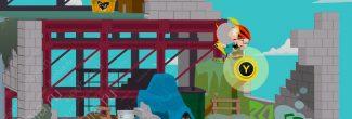 South Park: The Fractured But Whole: третий пердкурный прыжок на здание в лагере бездомных (SoDoSoPa)