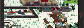 South Park: The Fractured But Whole: карта с местоположением лагеря бездомных (SoDoSoPa)