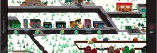 South Park: The Fractured But Whole: карта с местоположением ресторана Гордона Фримена в Южной Парке