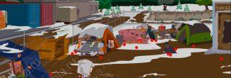 """South Park: The Fractured But Whole: расположение серебряных монеток в приюте бомжей (SoDoSoPa) для получения достижения """"Помоги себе сам"""""""