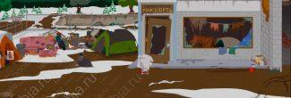 """South Park: The Fractured But Whole: расположение последней серебряной монетки в приюте бомжей (SoDoSoPa) для получения достижения """"Помоги себе сам"""""""
