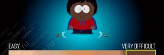South Park: The Fractured But Whole: выбор сложности игры на экране создания персонажа